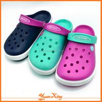 2016 New Design EVA Clogs Shoes Women Clog Shoes