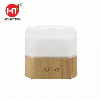 Innovative new products 7 Color LED Night Light Glass Cover Aromatherapy Portable Aroma Essential Oil Ultrasonic aroma diffuser
