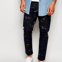 all over print custom made pantalones jeans men from China