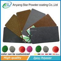 Anyang Star high resin content coating for metal surface epoxy polyester Powder Coating
