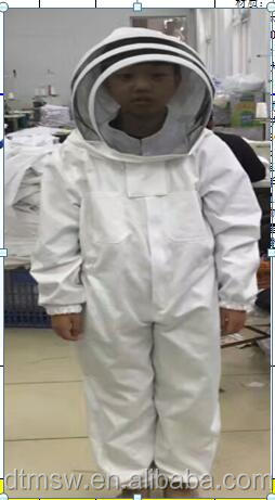 children 100% cotton Ventilated Beekeeping Protection suits, 120cm, 130cm, 140cm, 150cm bee protective Clothing