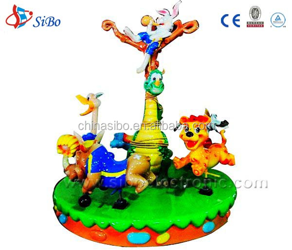 GMKP-53 SiBo animal world Merry-go-around/ amusement park ride manufacturer