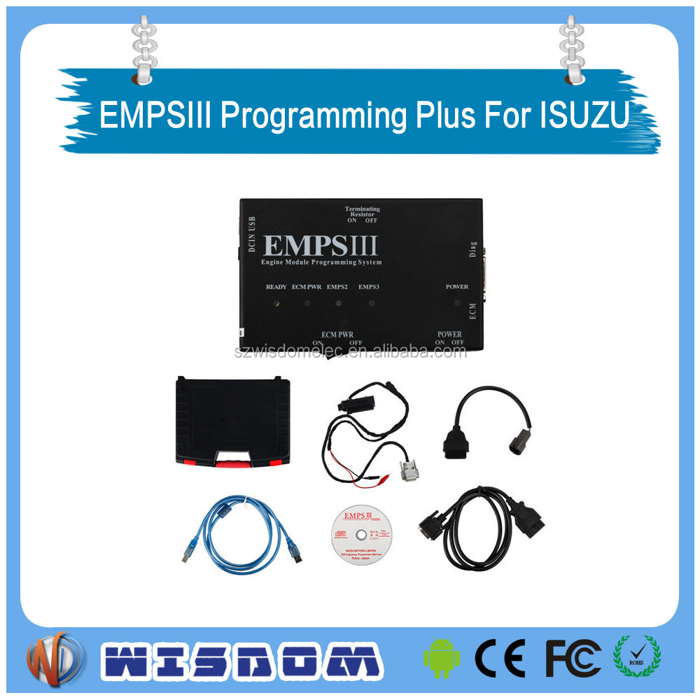 EMPSIII Programming Plus with Dealer Level trucks diagnostic scanner