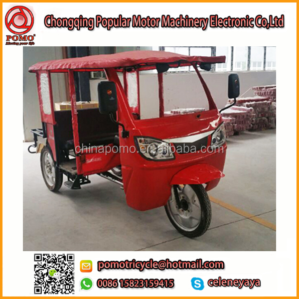 China Made Popular Passenger Transport Philippine Tricycle Design, Reverse Trike Motorcycles, Rickshaw Front Passenger