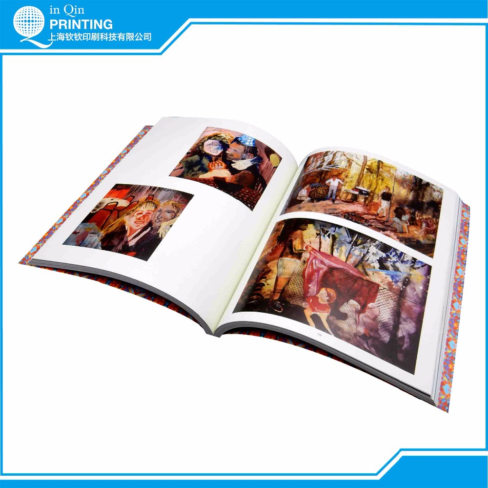 Full color gloss lamination large quantity printed book
