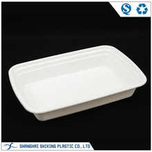 Wholesale White Plastic Disposable Frozen Food Tray