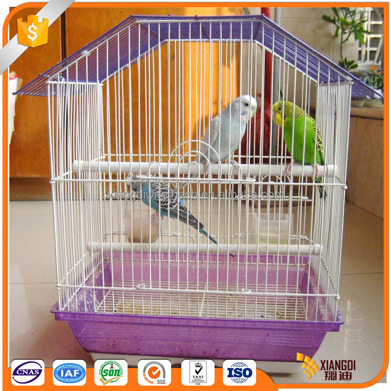 High quality customize colorful foldable birds cage accessories