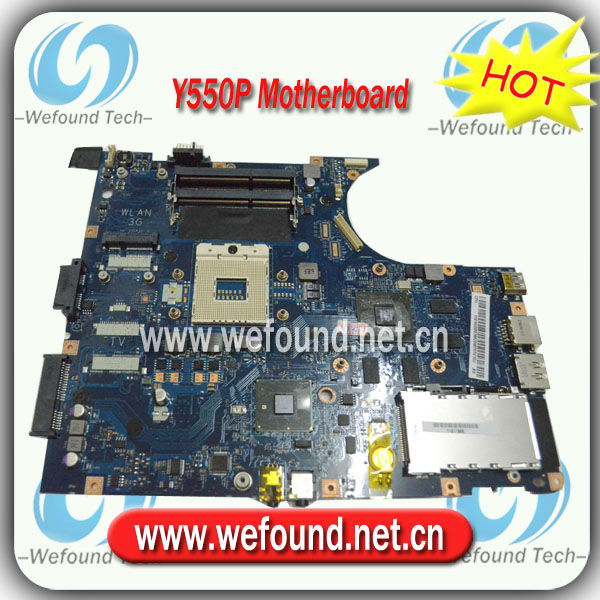 100% tested Laptop Motherboard for Lenovo Y550P LA-5371P Mainboard,System Board