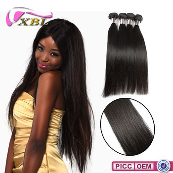 XBL 7A grade Chemical Free 100% brazilian sew in human hair weave