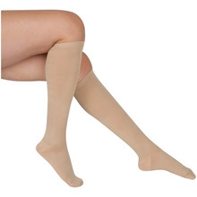 Medical quality women knee high stock comfort fit support stockings graduated compression stock