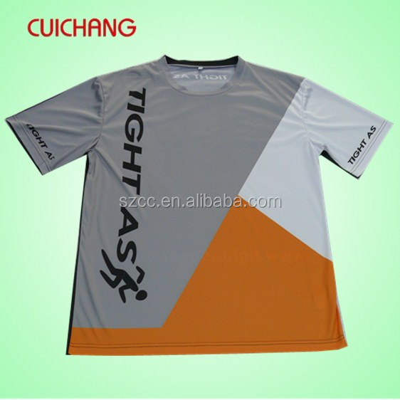 Polyester t shirt&100 polyester t shirts wholesale&65 polyester 35 cotton t shirt cc-908