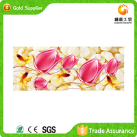 Attractive wholesale price modern acrylic painting diy diamond 3d painting flower