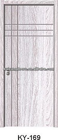 Nigeria interior PVC mdf wooden design <strong>door</strong>