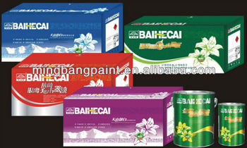 Baihecai wood cabinet paint-furniture paint-cherry wood varnish,matt or gloss varnish(PU,NC,PE)