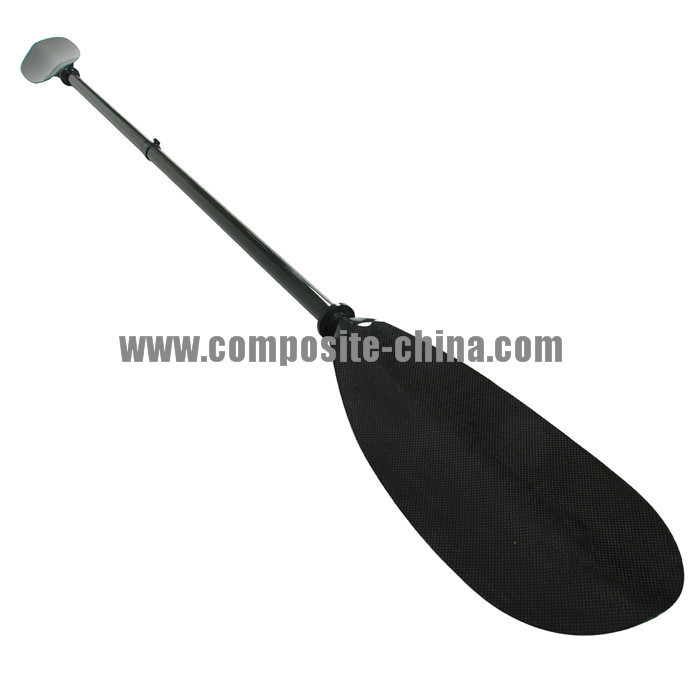 Two-Section Adjustable Kayak Paddle, Carbon Fiber Kayak Shaft and Blade