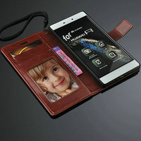 2015 hot wholesale for huawei p8 case , Original Leather Flip Left and right case for huawei ascend p8