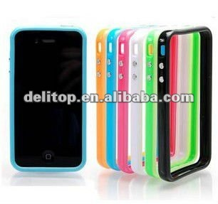 for Apple iPhone 4 4S silicone Bumper
