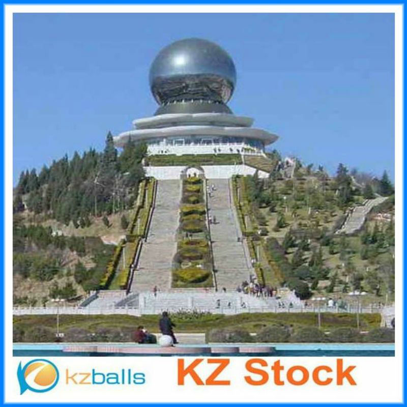 outdoor large decorative stainless steel ball