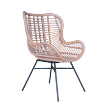 Wholesale relaxing outdoor wicker rattan willow chair
