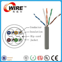 Owire Mobile Network Solution CE/ROHS Certificated Cat5e/Cat6 UTP/STP/SFTP Copper Communication Network Lan Cable