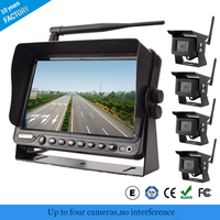 2.4Ghz Digital Wireless Car Reverse Rear View Camera With 7 Inch Monitor