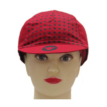 Hot Selling Custom Short Brim Red Bicycle Caps Hats Specialized Cycle Sports Hat Leisure Cycling Cap
