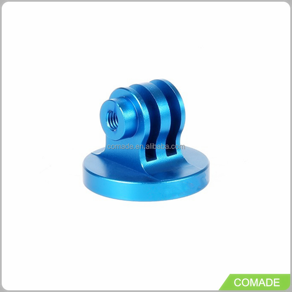 Custom made Blue color small cnc billet aluminum machined parts
