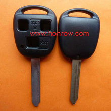High Quality Toyota 3 button remote key shell key blank with TOY47 blade replacement key shell toyota