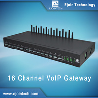 MINI cards 16 channel gsm voip gateway goip support calling sms and mms sending with AT command