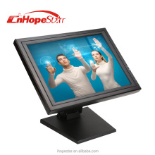 resistive / 10 points capacitive 15 inch touch screen monitor
