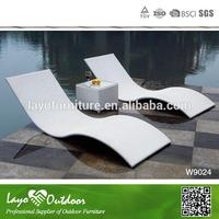 Professional Furniture Making Factory portable table wicker sun lounger furniture