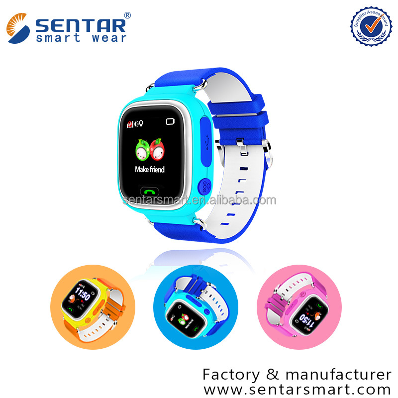 V80-1.22 Waterproof Kids GPS Android WiFi Smart Watch Phone with SOS Alert