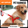 Pet Harness Vest for Dog Safety | Padded, Reflective, No Pull Style | Factory Direct