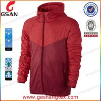 Custom outdoor 10000mm foldable nylon mens waterproof jacket