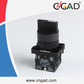 XB2-ED33 CNGAD 3 - position locked Standard lever pushbutton switch