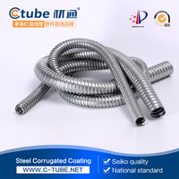Square-locked SUS 304 Stainless Steel Flexible Conduit