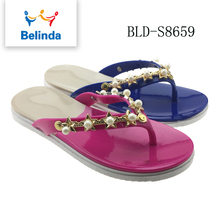 hot selling shoes ladies cheap beach sandalias flip flops in new design