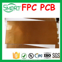 Smart Bes Capacitive sensor FPC for car security and FPCB/FPC cable with PI stiffener for touch screen
