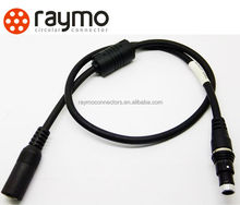Fisher serie 102 cable montado en Tapones SS/SSC 102 A053-130 + 4 pin cable de audio y video HD SD y cámaras