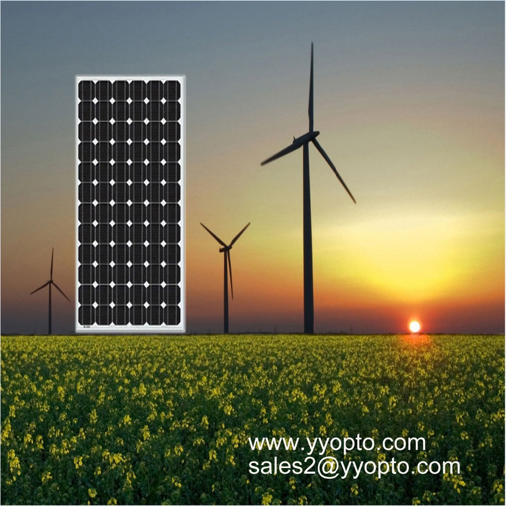 New product 300w monocrystalline solar panel black color
