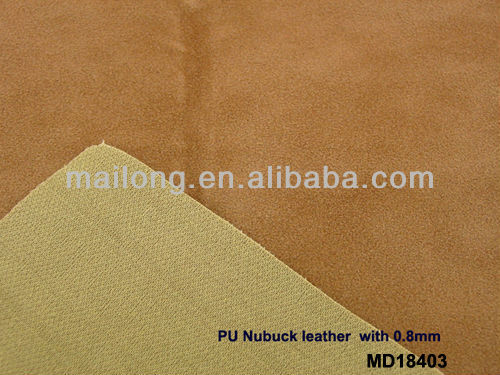 good quality Artificial Suede PU leather