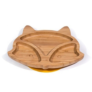 Refined-bam bamboo suction plate