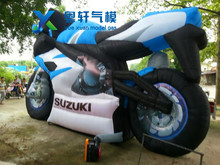 2017 Giant inflatable motorcycle model for promotion