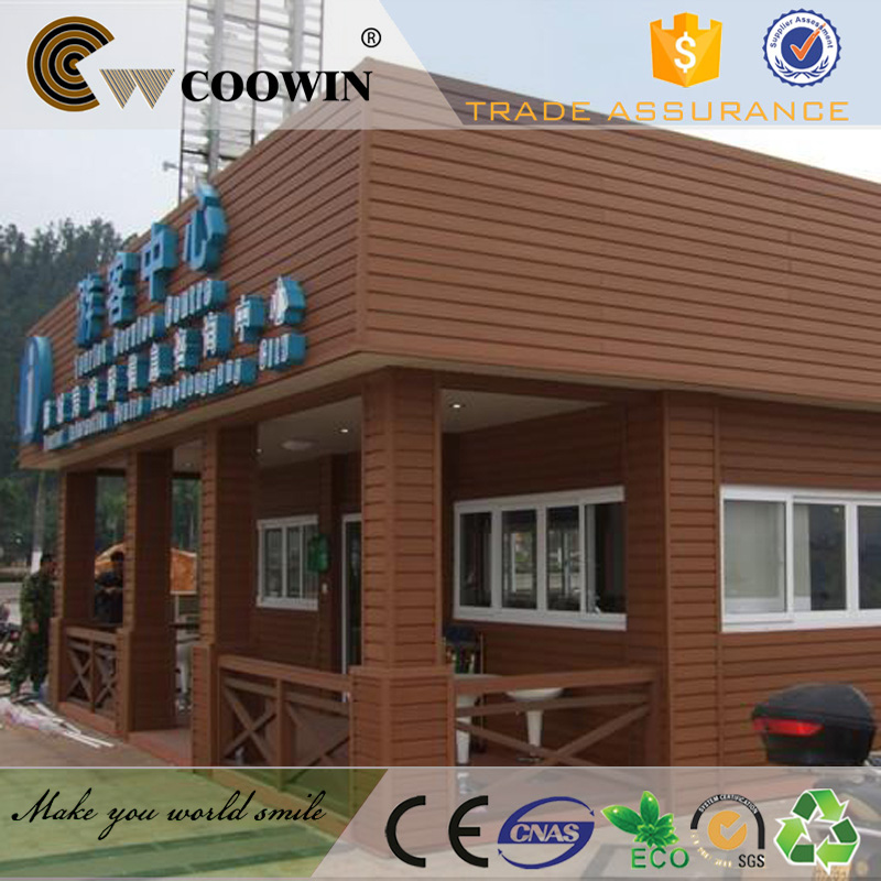 china supplier portable wpc container house siding
