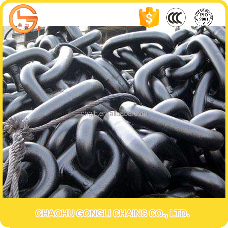 Low Price Marine Anchor Chain Stud link Anchor Chain Studless Mooring Chain