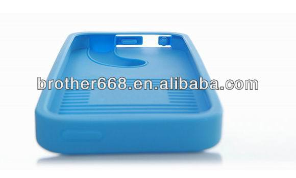 Hot and Good quality Silicone trumpet silicone speaker , case For Iphone 5S