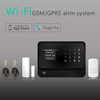 2015 hot Factory Manufacturer of WIFI alarm ! Best RFID GSM WiFi home alarm system with control IP camera bu AP