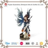 Handmade fairy resin sexy figurine