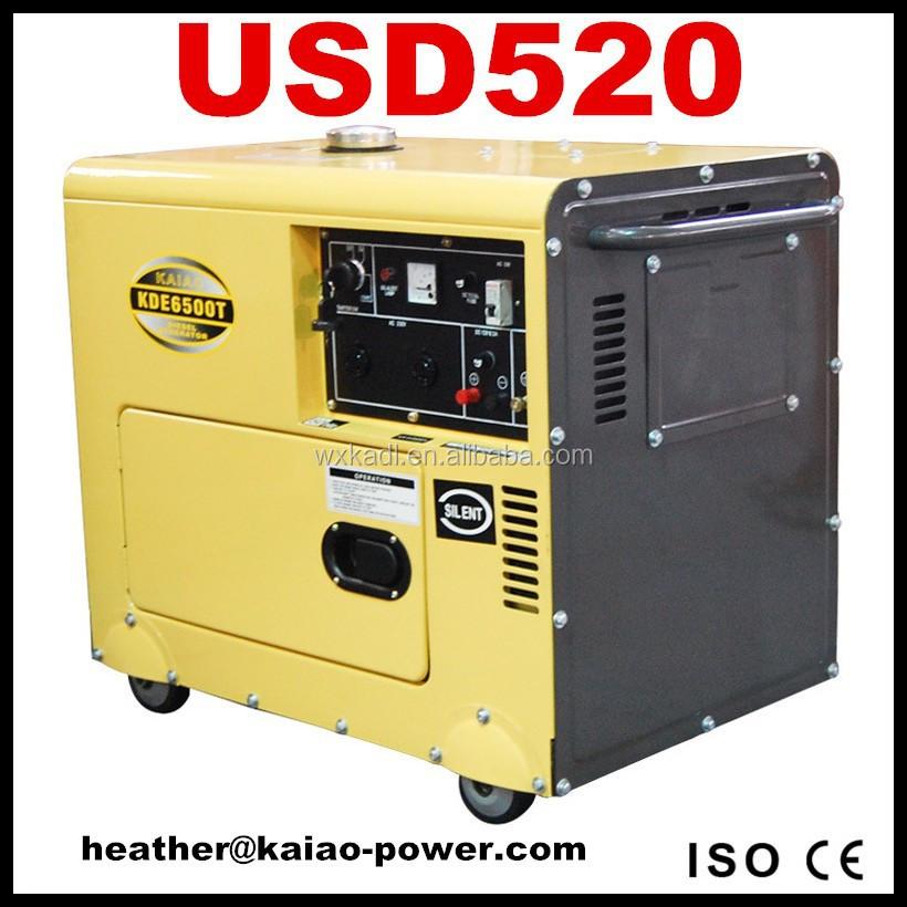 Best Human Home Use Diesel Generator 3 10kva Silent Type