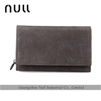 Soft Suede Material wholesale Popular Promotion Wallet for Men